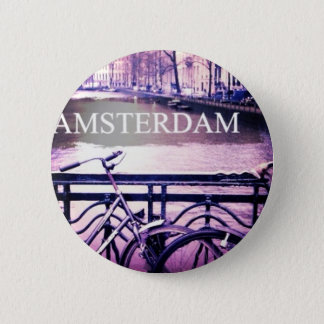 Amsterdam 6 Cm Round Badge