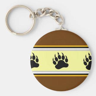 Amsterdam Bear Pride Basic Round Button Key Ring
