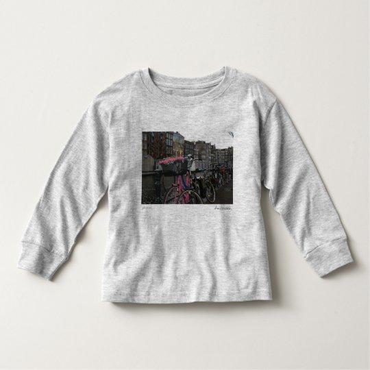 Amsterdam bicycle toddler T-Shirt