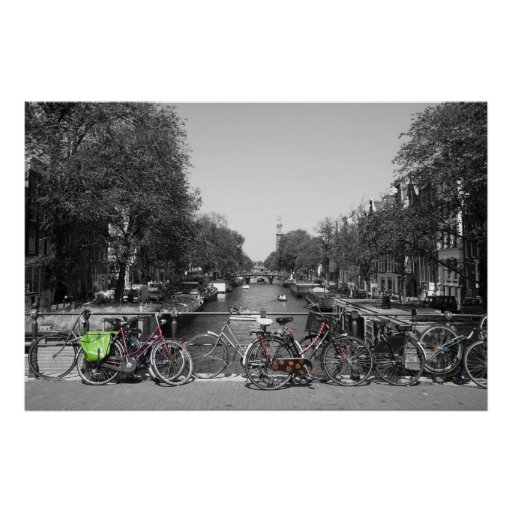 Amsterdam Bicycles Posters