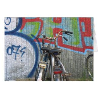 Amsterdam Bikes Card