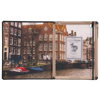 Amsterdam Canal and Architecture iPad Cover