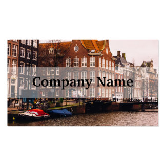 Amsterdam Canal and Architecture Pack Of Standard Business Cards