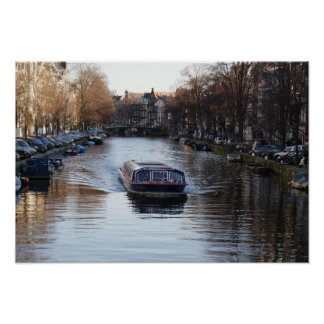 Amsterdam Canal Posters