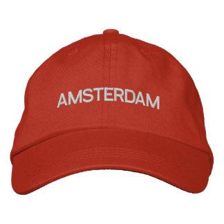 Amsterdam Cap Embroidered Baseball Caps