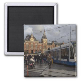 Amsterdam Central Station Magnet