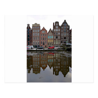 Amsterdam city postcard