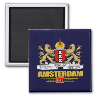 Amsterdam COA Square Magnet