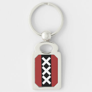 Amsterdam Coat of Arms Key Ring