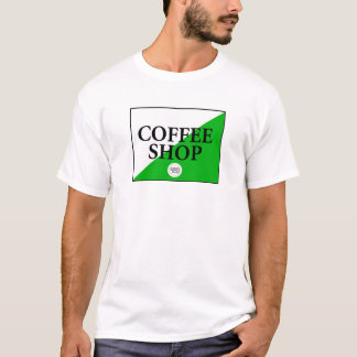 Amsterdam Coffee Shop T-Shirt