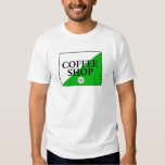 Amsterdam Coffee Shop T-shirts