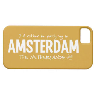 AMSTERDAM custom color iPhone case