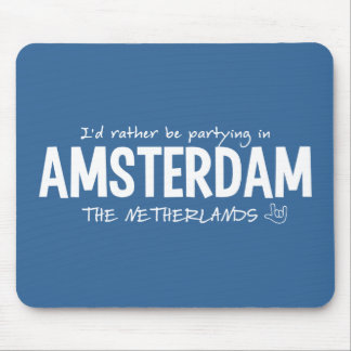 AMSTERDAM custom color mousepad