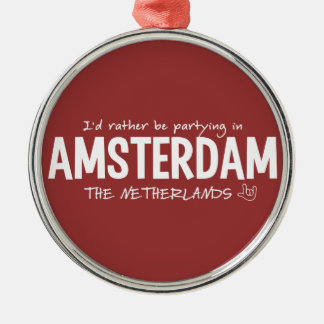 AMSTERDAM custom color ornament