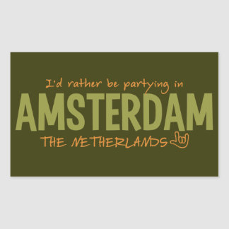 AMSTERDAM custom color stickers
