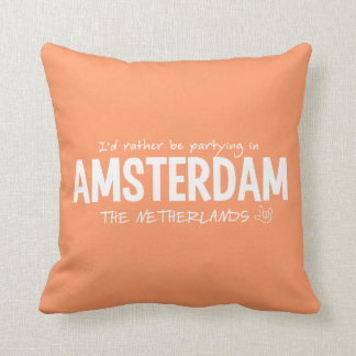 AMSTERDAM custom color throw pillow
