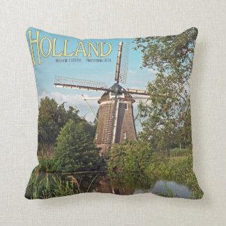 Amsterdam - De 1100 Roe Windmill Cushion
