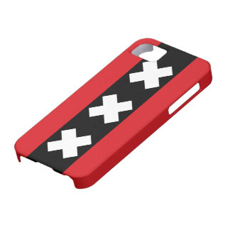 Amsterdam Flag iPhone 5 Cases