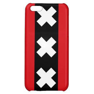 Amsterdam Flag iPhone 5C Cases