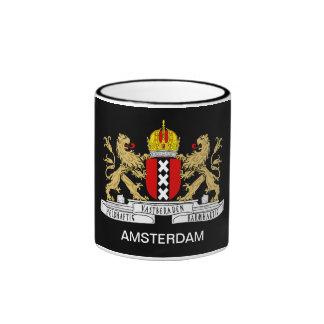 Amsterdam Flag Mug Black