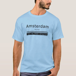 """Amsterdam - for the free-spirited"" T-Shirt"