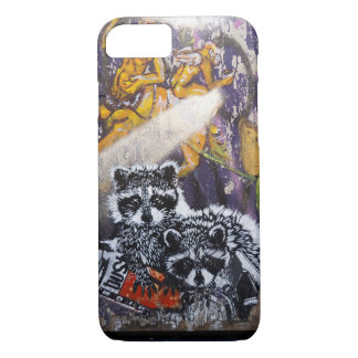 Amsterdam Graffiti Street Art Nr. 1 - Raccoon iPhone 7 Case