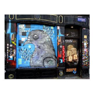 Amsterdam Graffiti Street Art Nr. 3 Postcard
