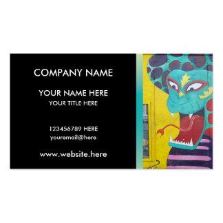 Amsterdam Graffiti Street Art Nr. 4 - Snake Pack Of Standard Business Cards