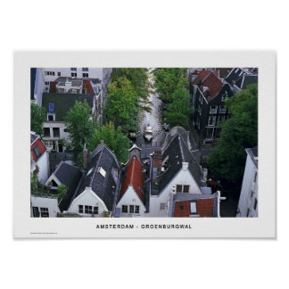 Amsterdam - Groenburgwal Poster