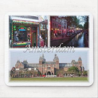 Amsterdam Holland Mouse Mat