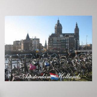 Amsterdam Holland Poster