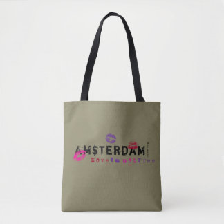 Amsterdam - how much is your love? tote bag
