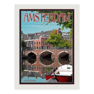 Amsterdam - Keizersgracht Postcard