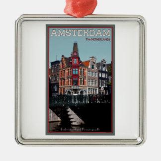 Amsterdam - Leidsestraat - Keizersgracht Christmas Ornament