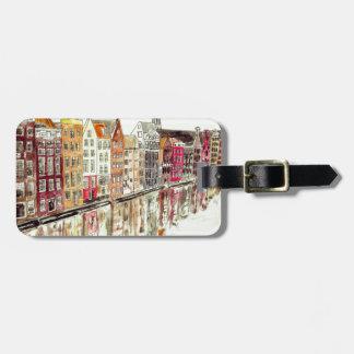 Amsterdam Luggage Tag