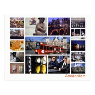 Amsterdam multi-image postcard