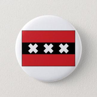 Amsterdam, Netherlands 6 Cm Round Badge