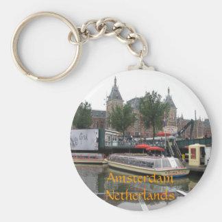 Amsterdam Netherlands Key Chains