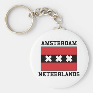 Amsterdam Netherlands Key Ring