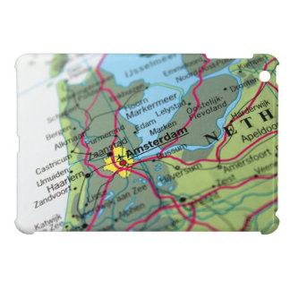 Amsterdam, Netherlands Map iPad Mini Cover