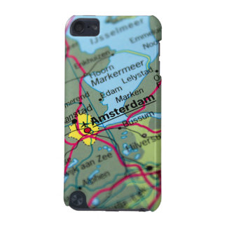 Amsterdam, Netherlands Map iPod Touch (5th Generation) Cases