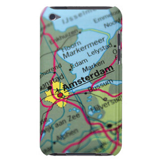 Amsterdam, Netherlands Map iPod Touch Cases