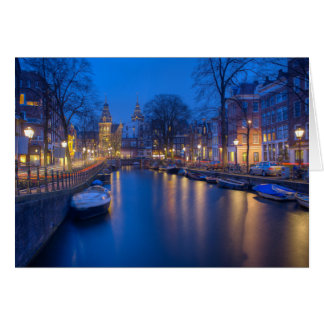Amsterdam, Netherlands Photography Card