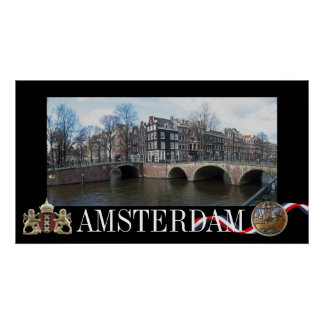Amsterdam Photo Poster