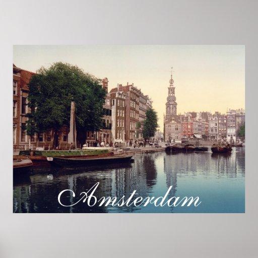 Amsterdam Poster