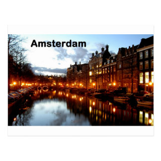 Amsterdam (St.K) Postcard