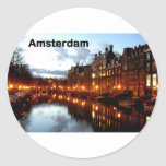 Amsterdam (St.K) Round Sticker