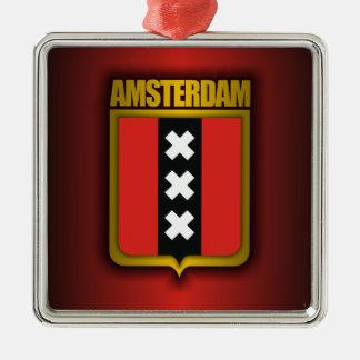 Amsterdam Steel (Flag) Christmas Ornament