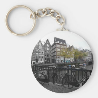 Amsterdam street key ring