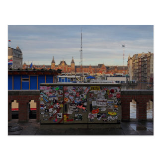 Amsterdam: Tagged Postcard